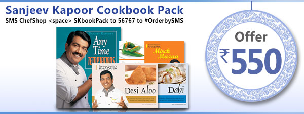 Sanjeev Kapoor Cookbook Pack