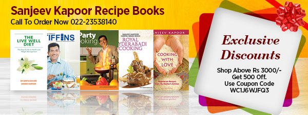 Sanjeev Kapoor Recipe Books