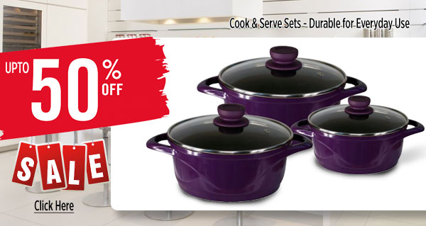 Cook & Serve Sets