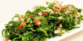 Kale and Mint Tabbouleh