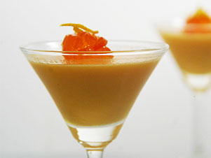 Orange Pannacota