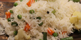 Simple Vegetable Pulao