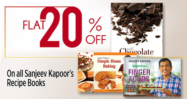 Sanjeev Kapoor's Recipe Books @ Flat 20% Off