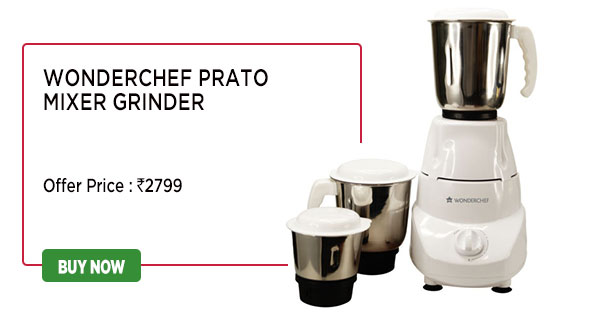 Wonderchef Prato Mixer Grinder