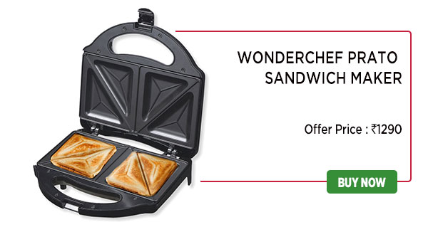 Wonderchef Prato Sandwich Maker