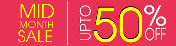 Mid Month Sale - Upto 50% Off