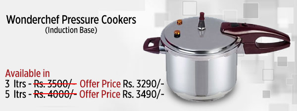 Wonderchef Pressure Cookers (Induction Base)