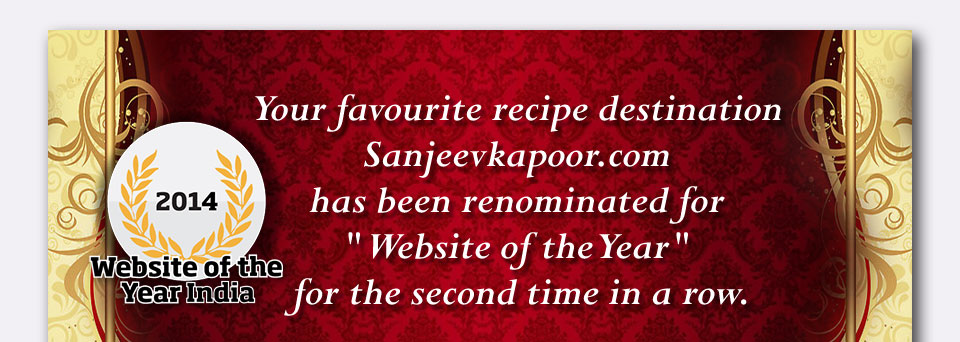 SanjeevKapoor.com - Website of the year vote now