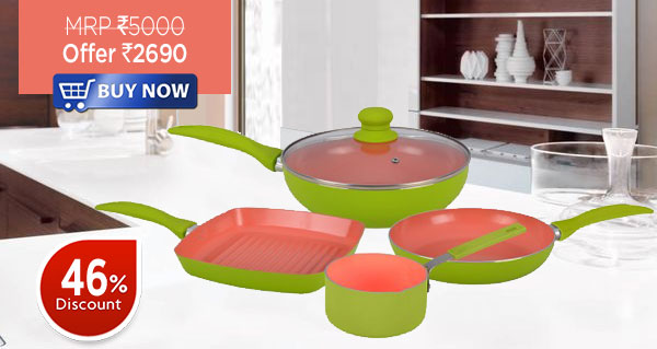 Wonderchef Oxford Set of 4Pcs