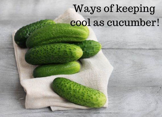 11 ways of keeping cool as a cucumber