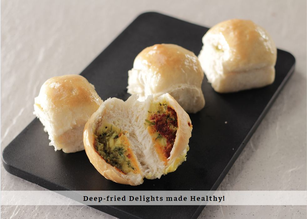 Deep Fried Delights made Healthy