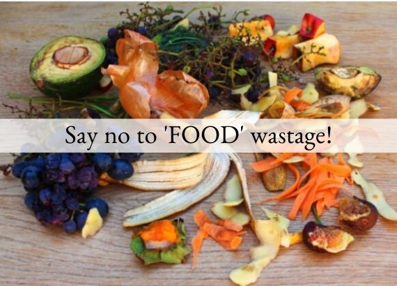 Say no to food wastage