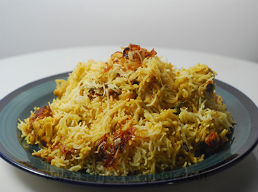 The beauty of a biryani