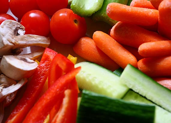 Veggies can help you lose fat