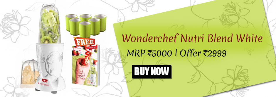 Wonderchef Nutri Blend Black at Rs