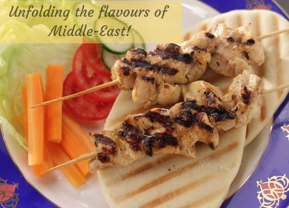 Unfolding the flavours of Middle East