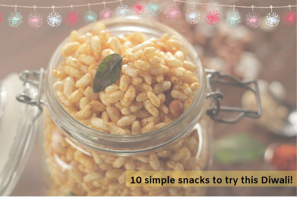 10 simple snacks to try this Diwali
