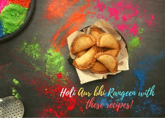 Holi aur bhi rangeen with these recipes