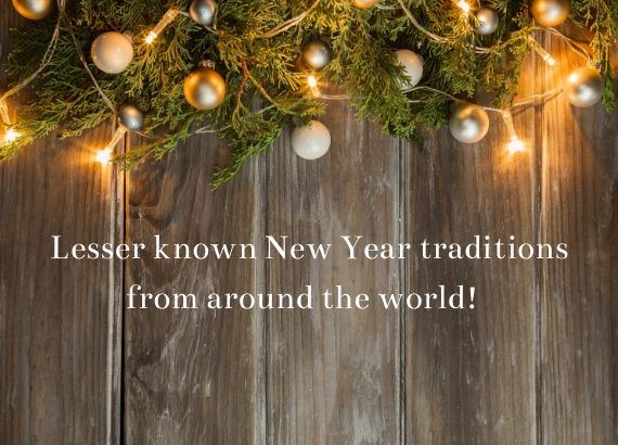 Lesser known New Year traditions