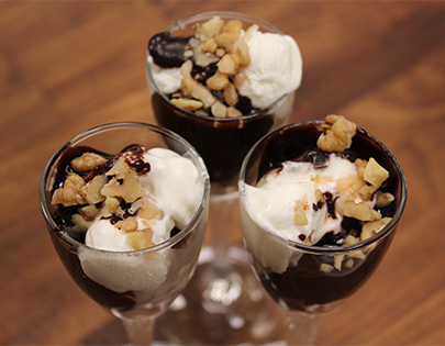 Analysis for desserts including ice cream