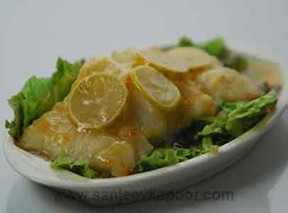 Air Fried Lemon Fish