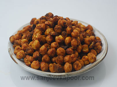 Air-fried Masala Chana