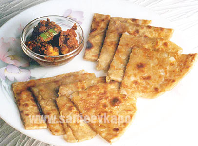 How to make aloo parantha recipe by masterchef sanjeev kapoor aloo parantha recipe card forumfinder Image collections
