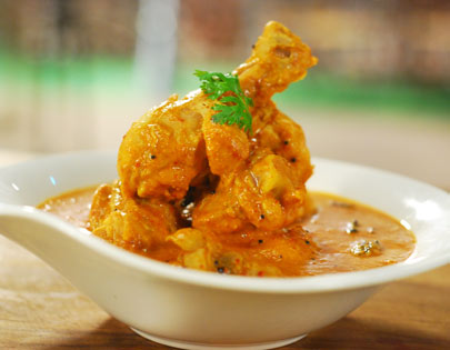 Andhra Style Chicken