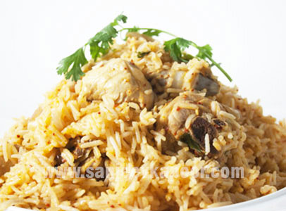 Andhra Style Chicken Pulao