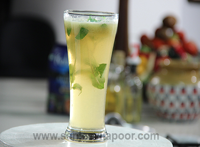 Apple Ginger Lemonade