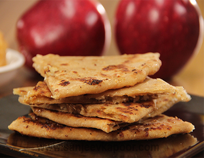 Apple Khoya ka Parantha