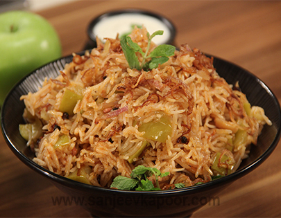 Apple Pulao