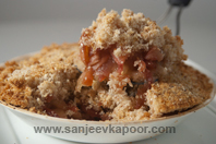 Apple Torte With Breadcrumbs