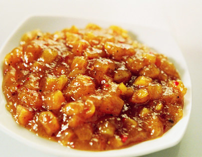 Apricot And Black Pepper Chutney