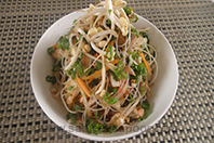 Asian Chicken Glass Noodle Salad