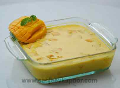 How to make baked aamrakhand recipe by masterchef sanjeev kapoor forumfinder Image collections