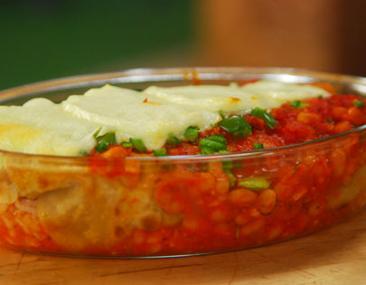 Mexican recipes chef sanjeev kapoor recommended recipes baked bean enchiladas forumfinder Images