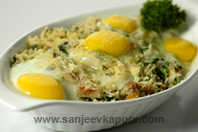 Baked Egg And Rice
