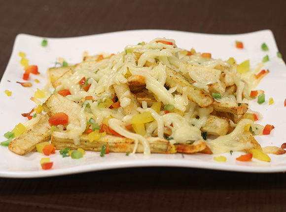 Banana Fries with Cheese-SK Khazana