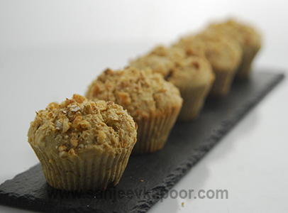 How to make banana and walnut muffins recipe by masterchef how to make banana and walnut muffins recipe by masterchef sanjeev kapoor forumfinder Image collections