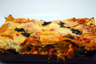 Barbecued Chicken Lasagna