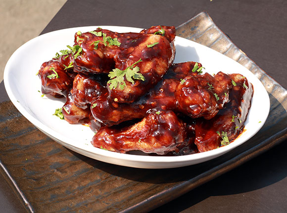 Barbeque Chicken Wings - SK Khazana