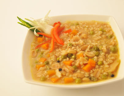 Barley And Peanut Soup