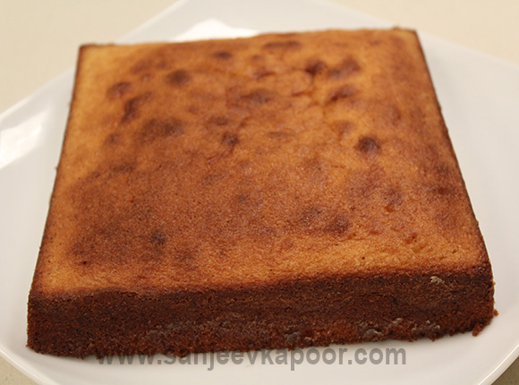 How To Cook Cake In Microwave By Sanjeev Kapoor