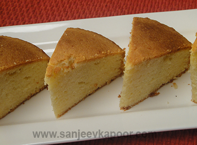 How To Make Sponge Cake At Home By Sanjeev Kapoor