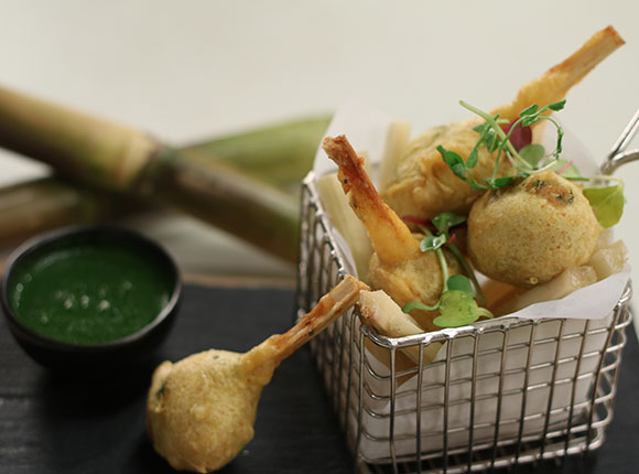 Batata Vada on Sugarcane Sticksv- SKK