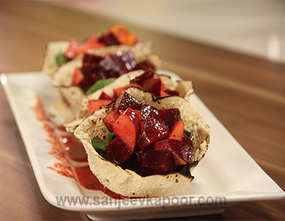Food recipes by master chef sanjeev kapoor beetroot and apple salad forumfinder Choice Image