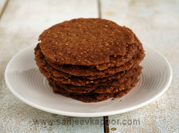 How to make Benne Wafers - Sweet and savory sesame seed wafers.