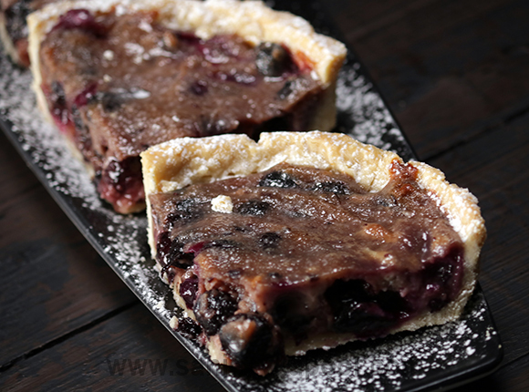 How To Make Blueberry Mascarpone Pies Recipe By Masterchef Sanjeev Kapoor