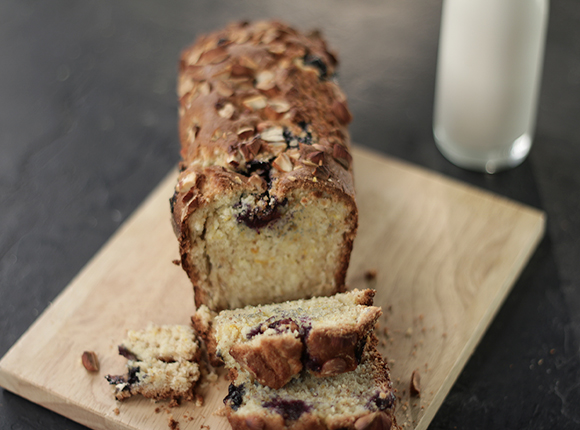 Blueberry Orange Almond Loaf - SK Khazana